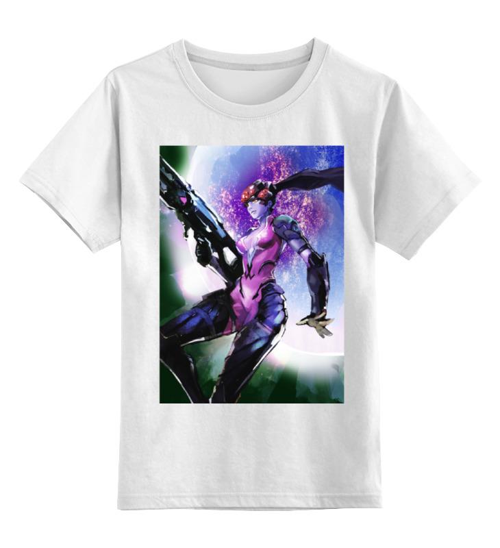 Детская футболка классическая унисекс Printio Роковая вдова футболка классическая printio overwatch роковая вдова
