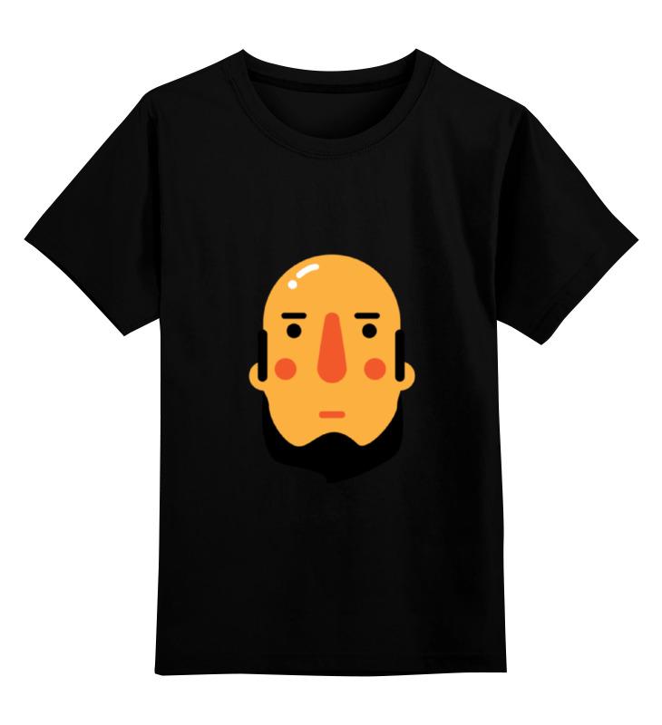 Детская футболка классическая унисекс Printio Борода i