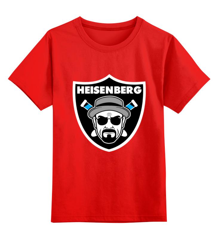 Детская футболка классическая унисекс Printio Heisenberg raiders smoby детская горка king size цвет красный