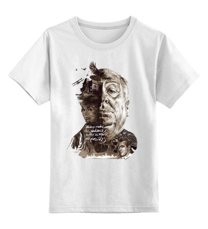 Детская футболка классическая унисекс Printio Alfred hitchcock детская футболка классическая унисекс printio spitfire