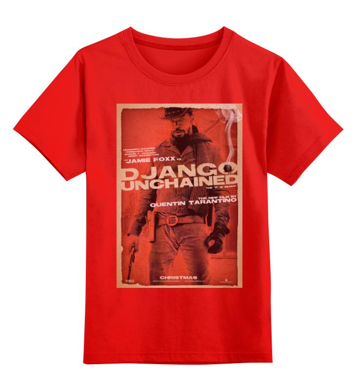 Детская футболка классическая унисекс Printio Django unchained - jame foxx
