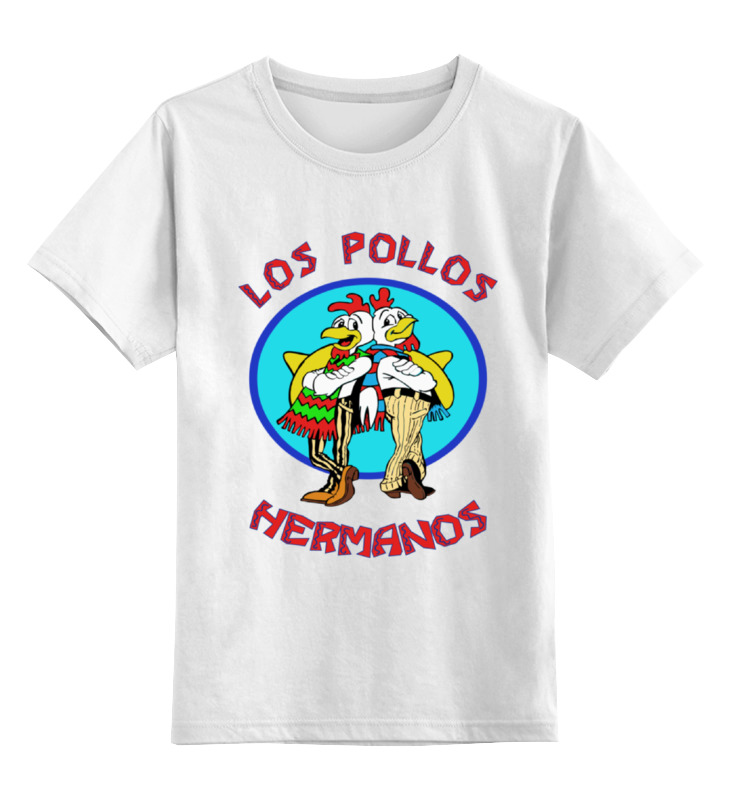 Детская футболка классическая унисекс Printio Los pollos hermanos (breaking bad) сумка printio los pollos hermanos breaking bad