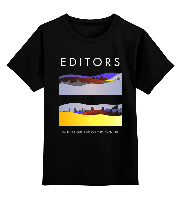 Детская футболка классическая унисекс Printio Editors editors editors in dream
