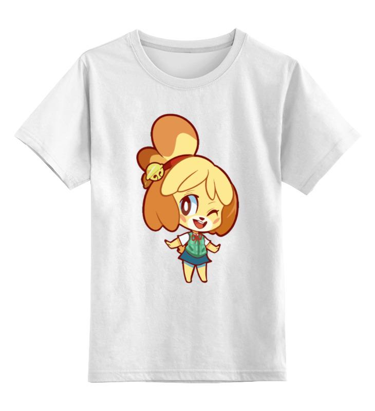 Детская футболка классическая унисекс Printio Изабель (приходи в лес животных) футболка wearcraft premium printio изабель приходи в лес животных