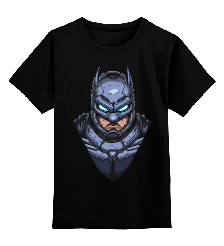 Детская футболка классическая унисекс Printio Armored batman / бэтмен в броне фигурка jada armored batman 10 см металлическая