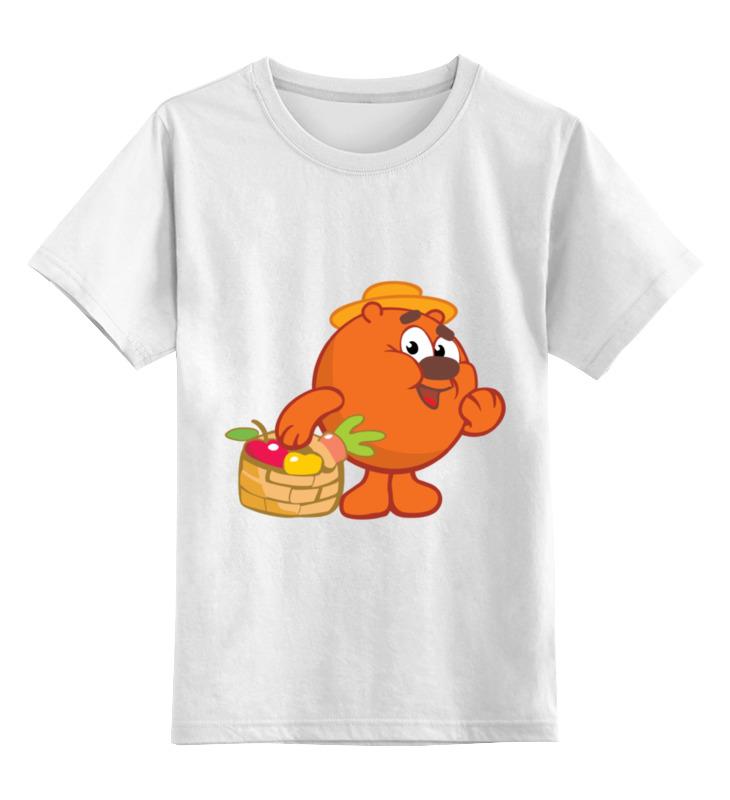 Детская футболка классическая унисекс Printio Смешарики футболка классическая printio смешарики
