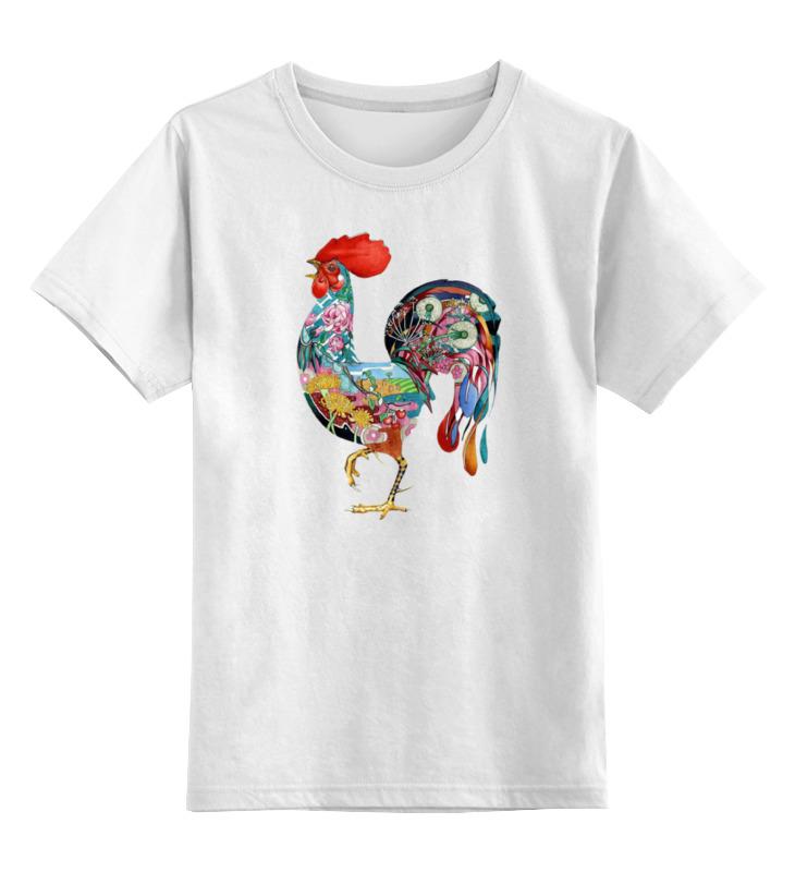 Детская футболка классическая унисекс Printio Петух арт детская футболка классическая унисекс printio мачете