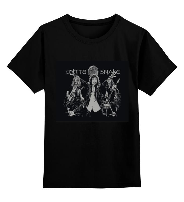Детская футболка классическая унисекс Printio Whitesnake футболка стрэйч printio whitesnake
