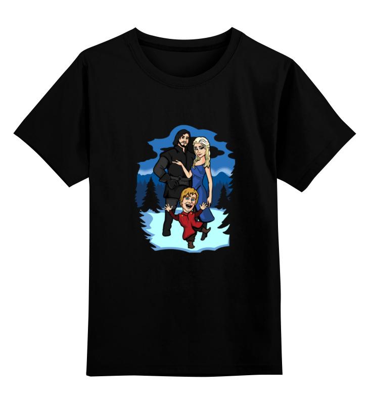 Детская футболка классическая унисекс Printio Игра престолов (game of thrones) футболка для беременных printio game of thrones игра престолов