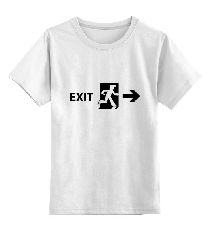 Детская футболка классическая унисекс Printio Элвис покинул здание 2pcs pairing left