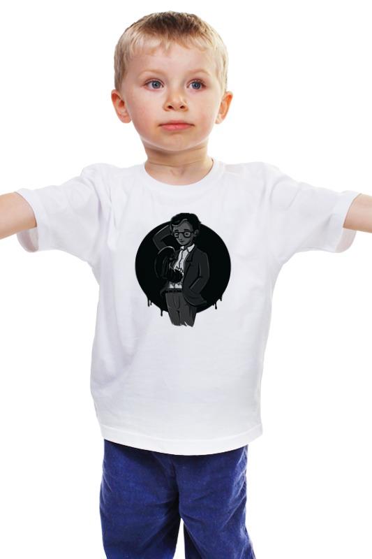 Детская футболка классическая унисекс Printio Вуди аллен шутки господа вуди аллен где