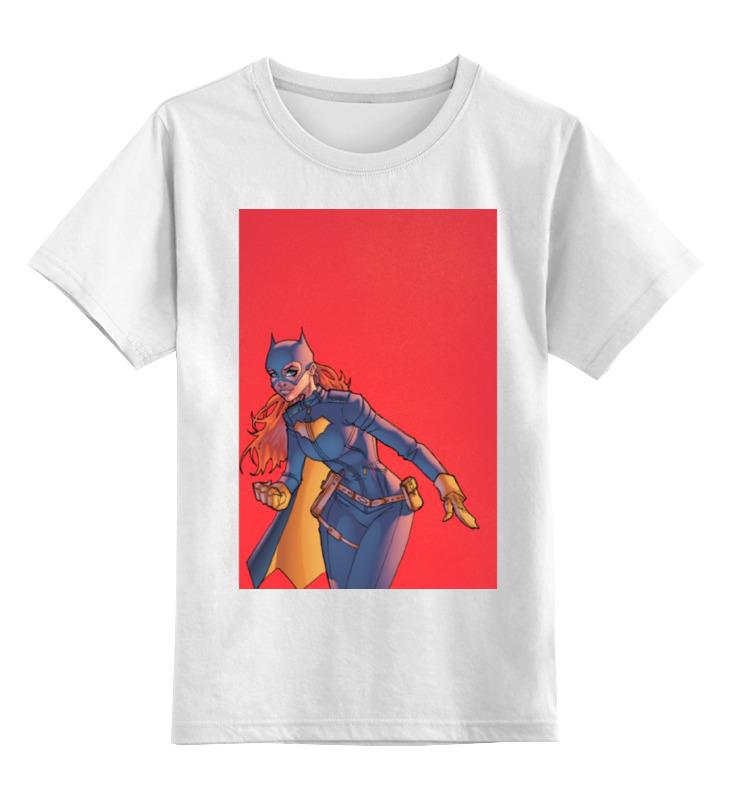 Детская футболка классическая унисекс Printio Бэтгёрл (batgirl) детская футболка классическая унисекс printio бэтгёрл batgirl