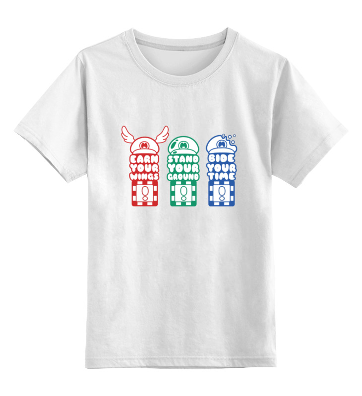 Printio Марио детская футболка классическая унисекс printio марио карт