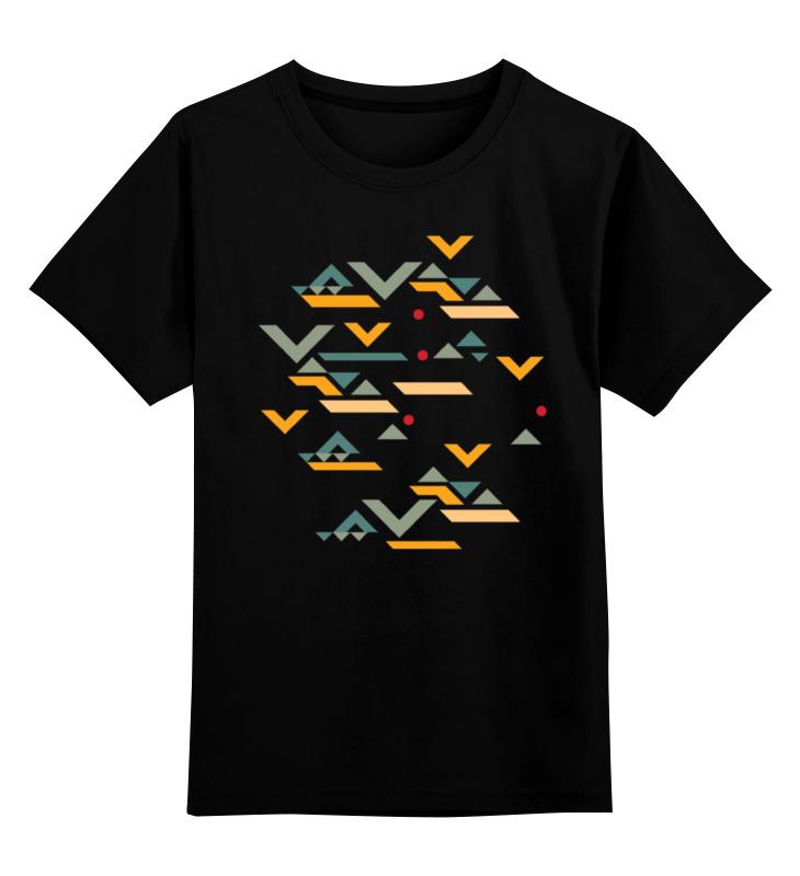 Детская футболка классическая унисекс Printio Этническая геометрия толстовка wearcraft premium унисекс printio этническая геометрия