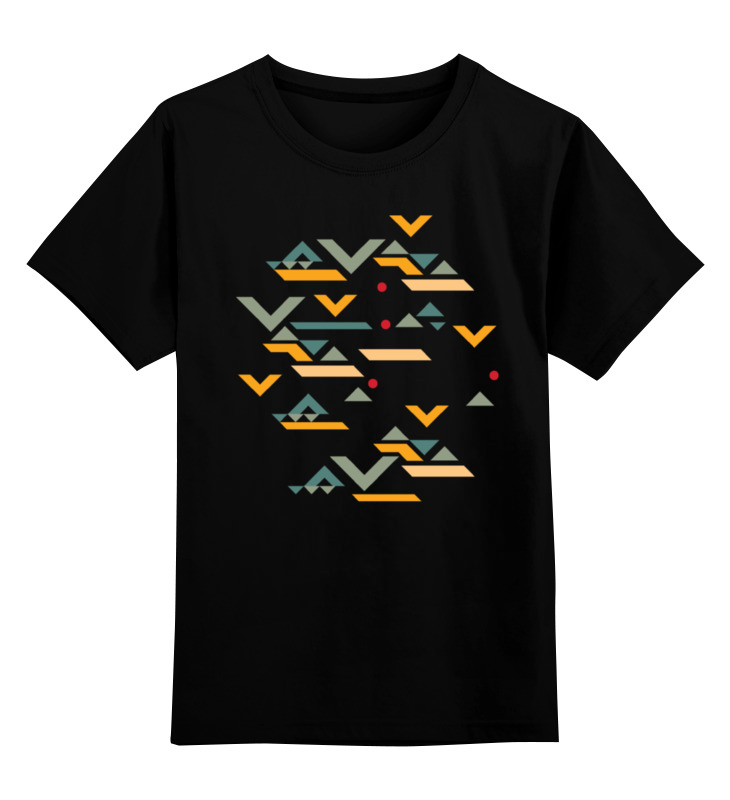 Детская футболка классическая унисекс Printio Этническая геометрия детская футболка классическая унисекс printio мачете