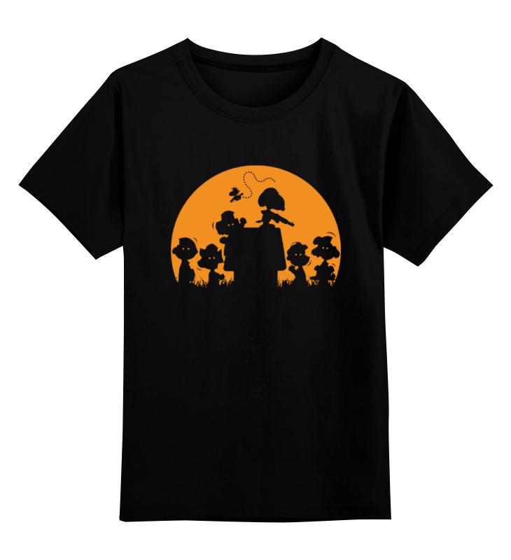 Детская футболка классическая унисекс Printio Снупи детская футболка классическая унисекс printio чарли браун и снупи