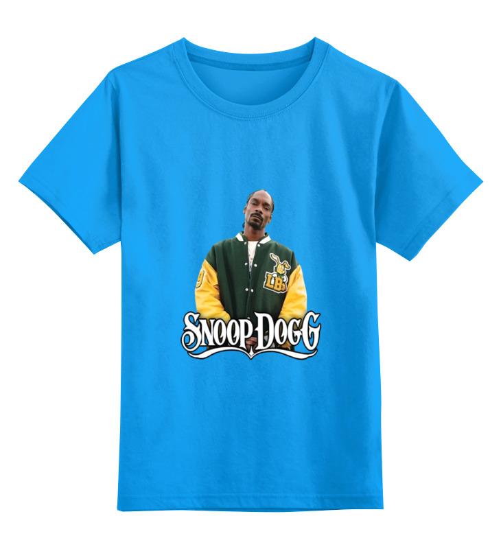 Детская футболка классическая унисекс Printio Snoop dogg