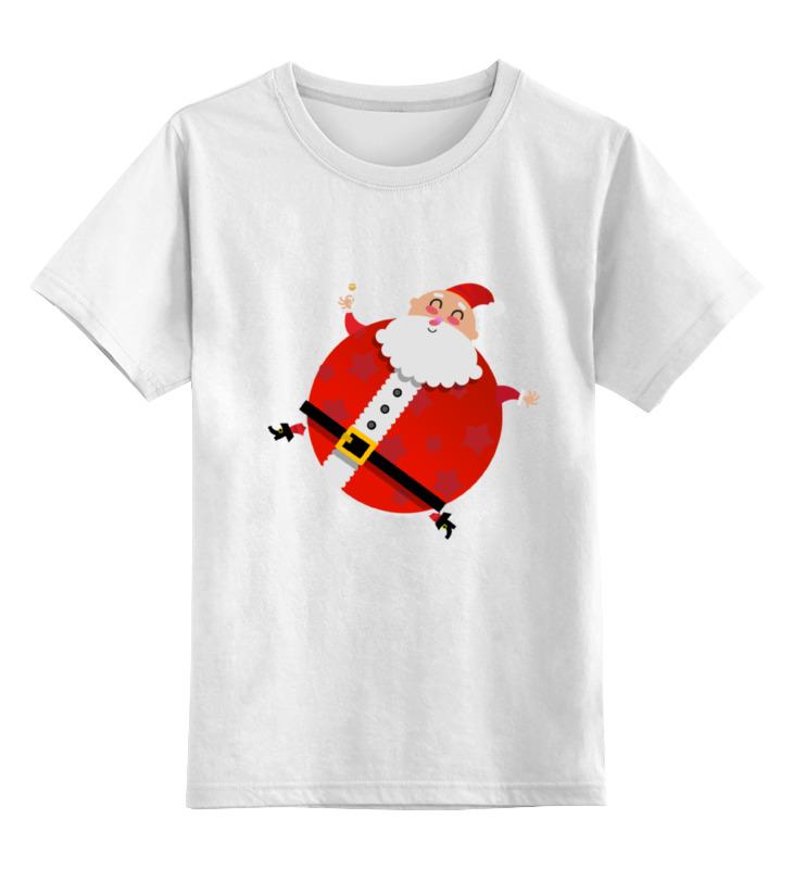 Детская футболка классическая унисекс Printio Santa santa claus