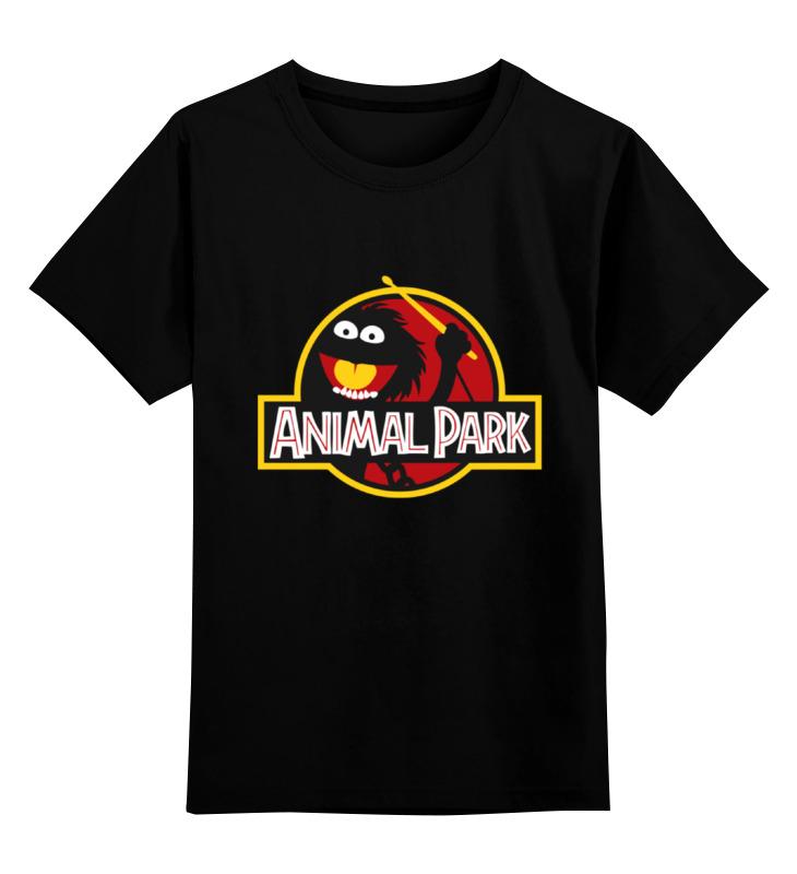 Детская футболка классическая унисекс Printio Animal park