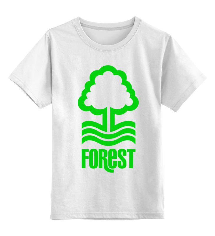 Детская футболка классическая унисекс Printio Лес (дерево) лонгслив printio лес дерево