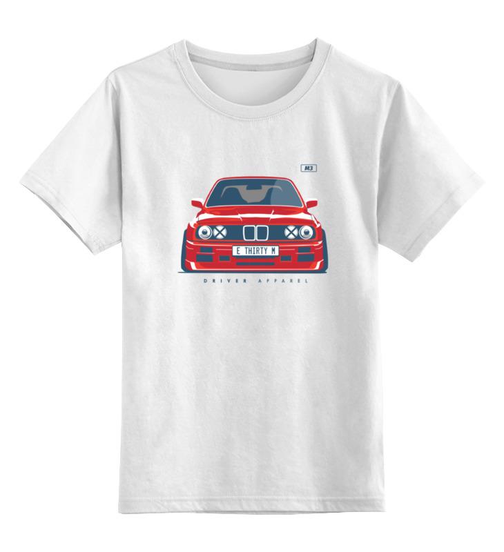 Детская футболка классическая унисекс Printio Bmw e30 m3