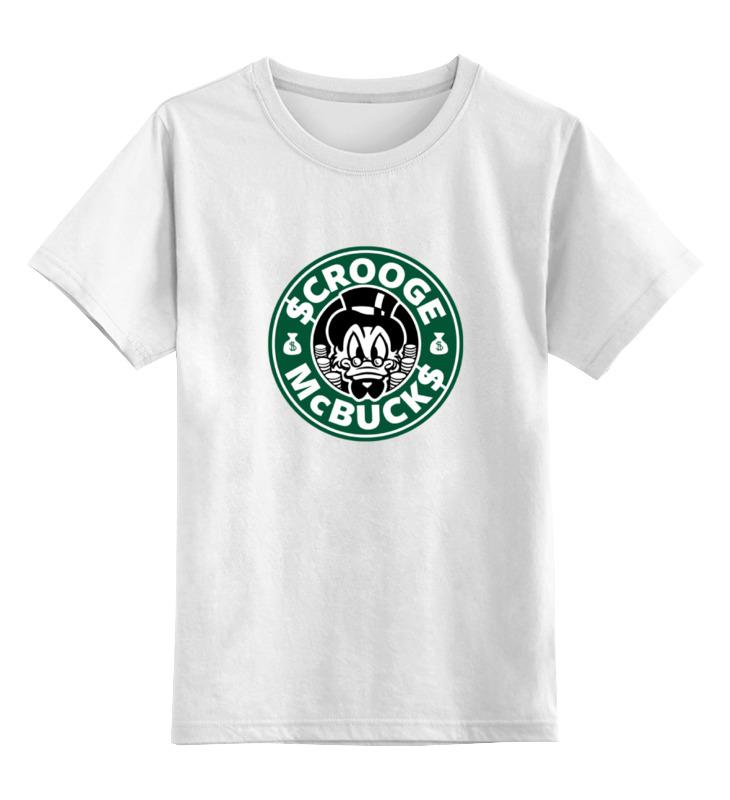 Детская футболка классическая унисекс Printio Scrooge mcbucks (starbucks) детская футболка классическая унисекс printio дядя скрудж