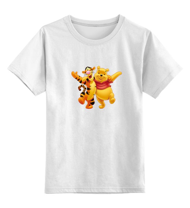 Детская футболка классическая унисекс Printio Винни-пух лодка надувная детская intex винни пух 58394