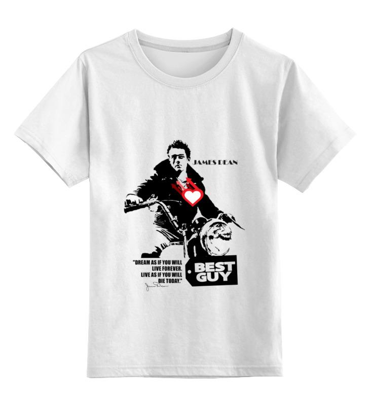Детская футболка классическая унисекс Printio James dean джеймс дин