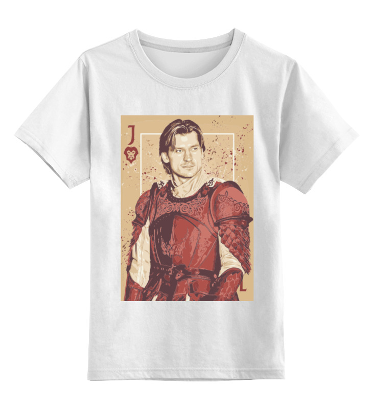 Детская футболка классическая унисекс Printio Джейме ланнистер лонгслив printio джейме ланнистер