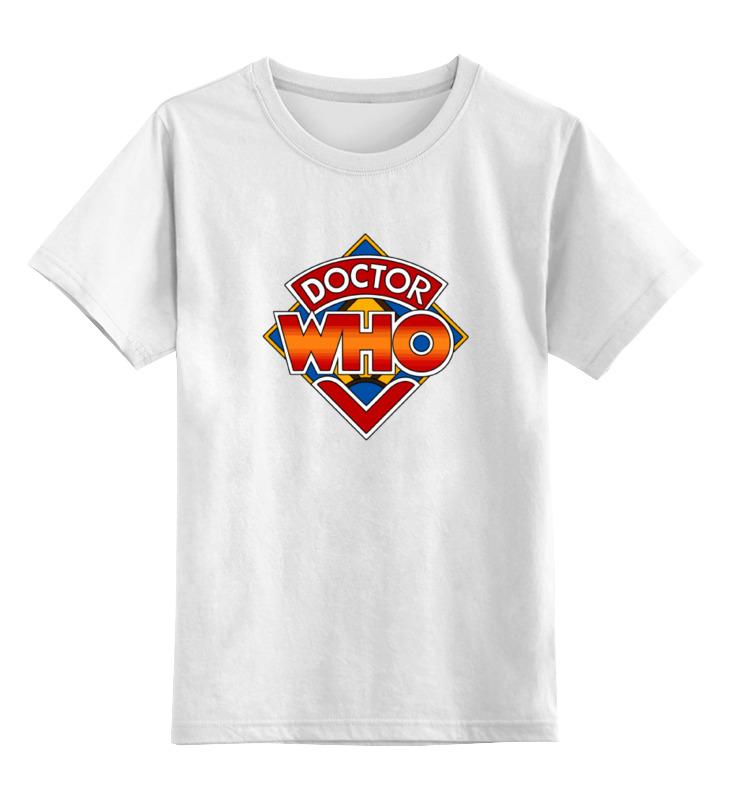 Детская футболка классическая унисекс Printio Доктор кто (doctor who) doctor who archives prisoners of time omnibus