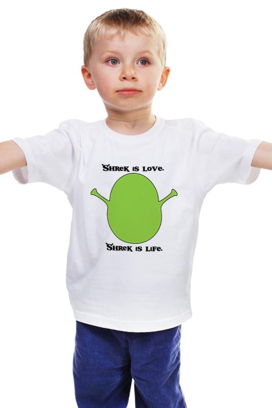 Детская футболка классическая унисекс Printio Шрек (shrek)