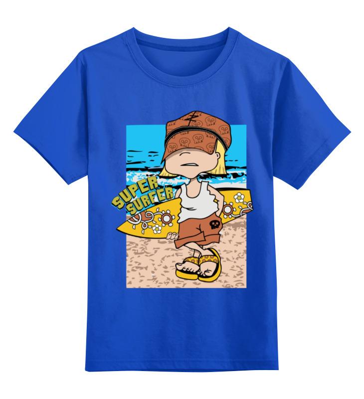 купить Детская футболка классическая унисекс Printio Super surfing по цене 990 рублей
