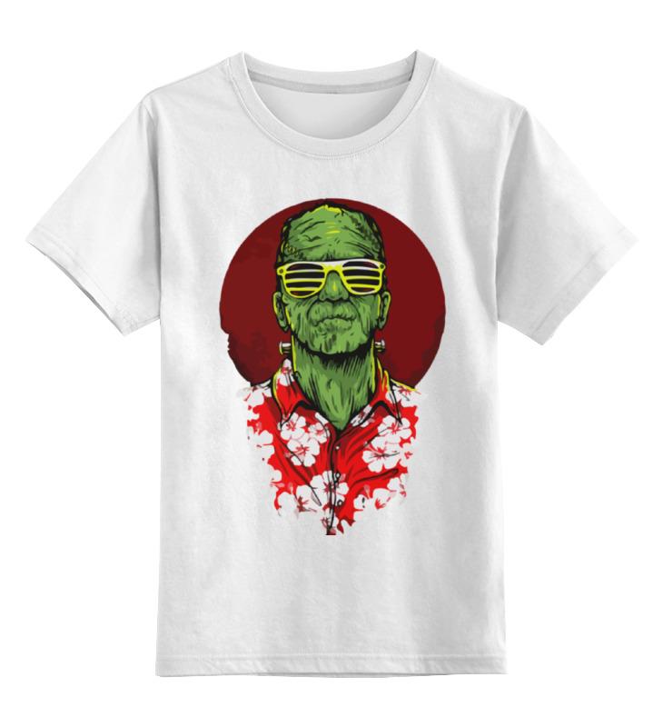 Детская футболка классическая унисекс Printio Франкенштейн