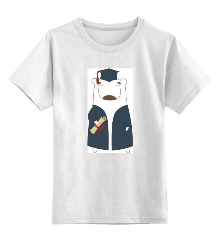Детская футболка классическая унисекс Printio Мишка бо ночники pabobo ночник мишка путешественник