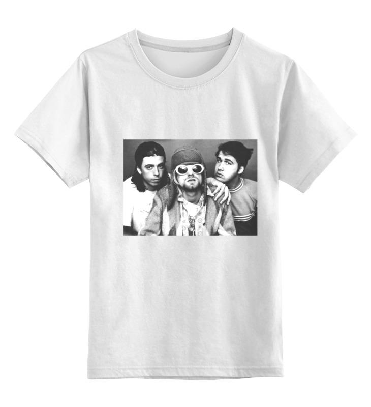 Детская футболка классическая унисекс Printio Нирвана детская футболка классическая унисекс printio мачете