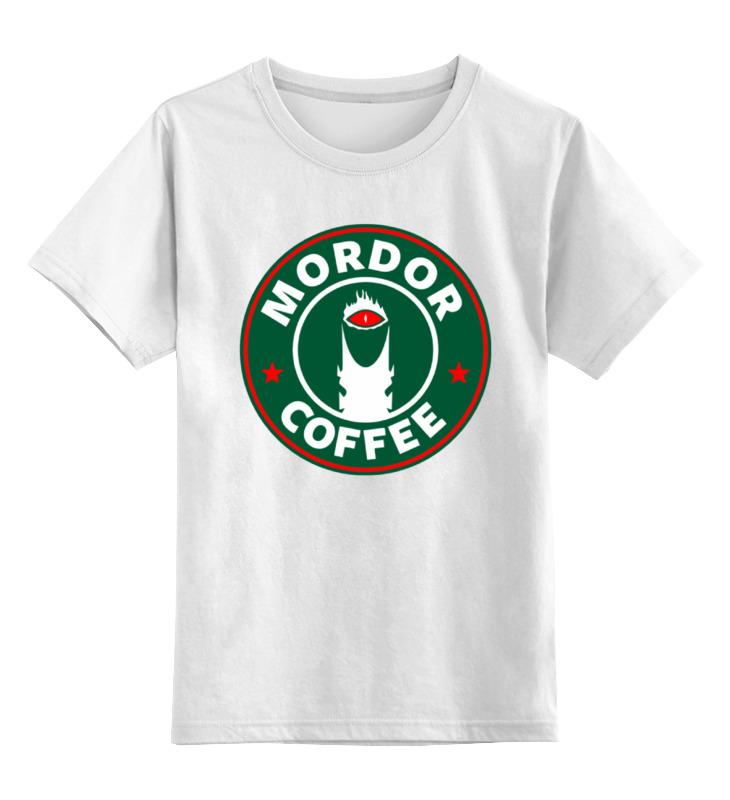 Детская футболка классическая унисекс Printio Мордор детская футболка классическая унисекс printio новгородская область великий новгород