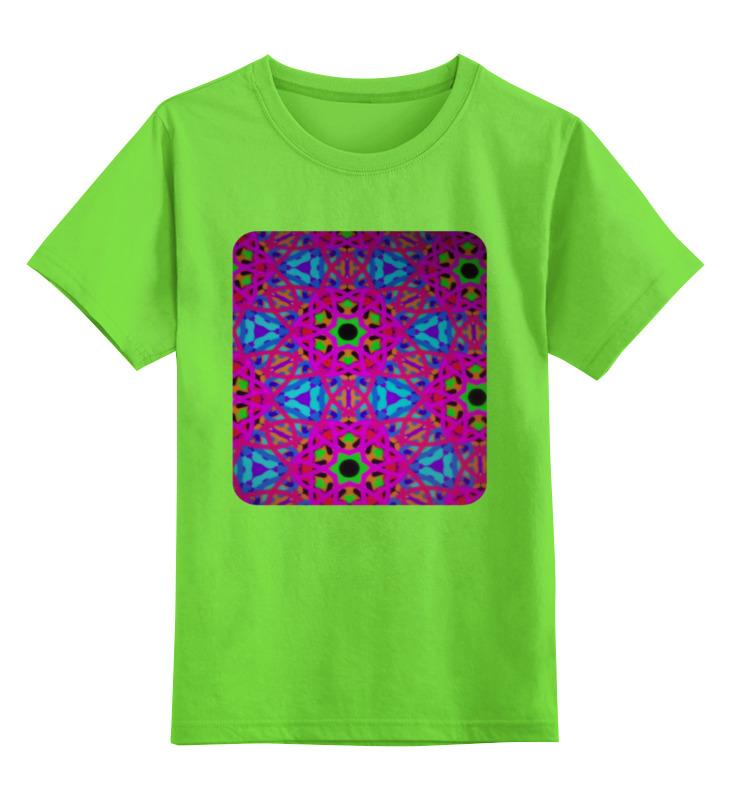 Детская футболка классическая унисекс Printio Мозаика мозаика elada mosaic m8l3455 300x300x8мм зелёный микс