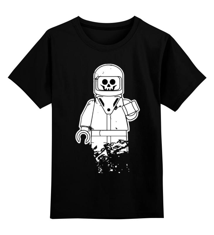Детская футболка классическая унисекс Printio Лего космонавт детская футболка классическая унисекс printio лего lego