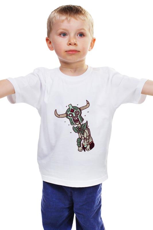 Детская футболка классическая унисекс Printio Dota 2 - undying лонгслив printio undying dota 2