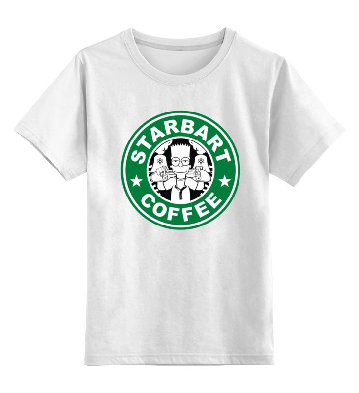 Детская футболка классическая унисекс Printio Барт симпсон детская футболка классическая унисекс printio бегемот