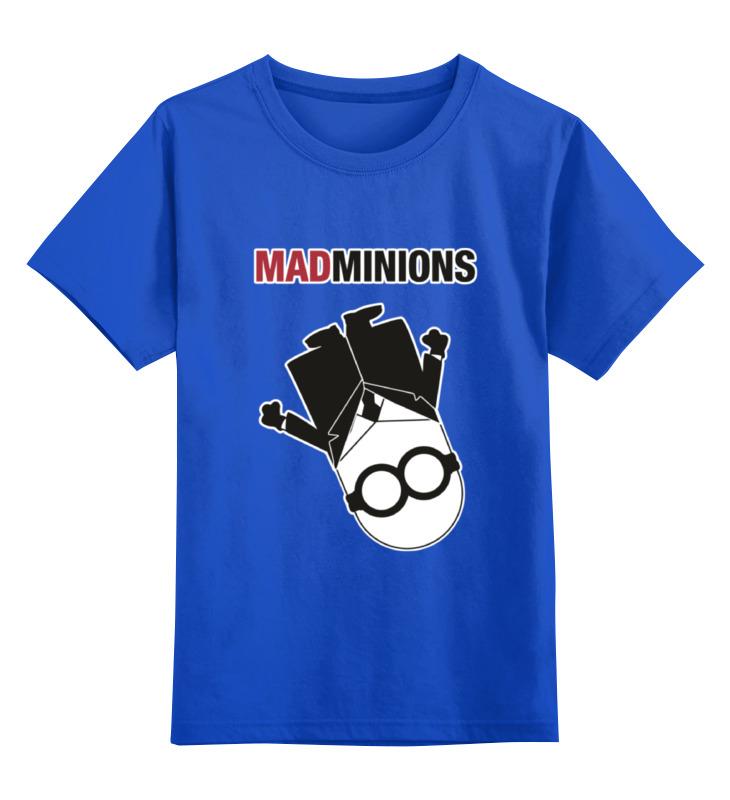 Детская футболка классическая унисекс Printio Mad minions детская футболка классическая унисекс printio virgins o r pigeons gotta get mad