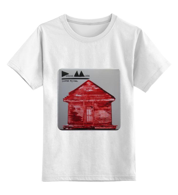 Детская футболка классическая унисекс Printio Depeche mode мешки для мусора paclan beesmart 120 л 10 шт с завязками