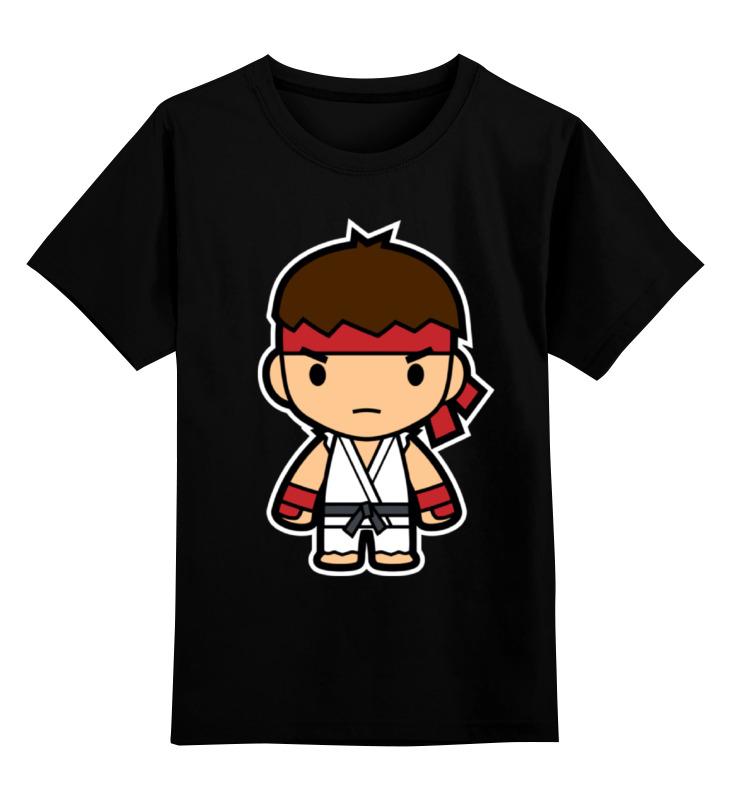 все цены на Детская футболка классическая унисекс Printio Ryu (street fighter)