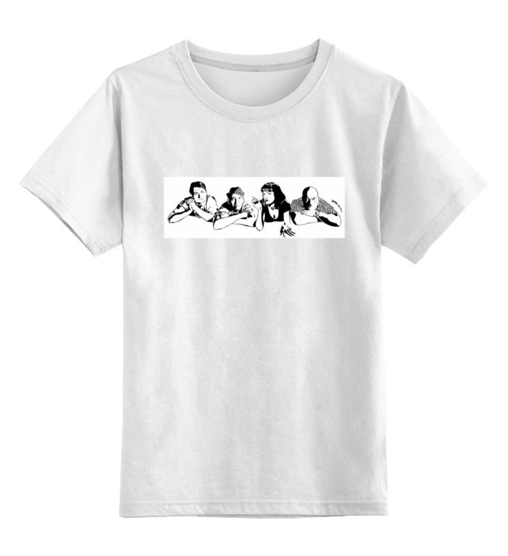 Детская футболка классическая унисекс Printio Кавказская пленница пленница