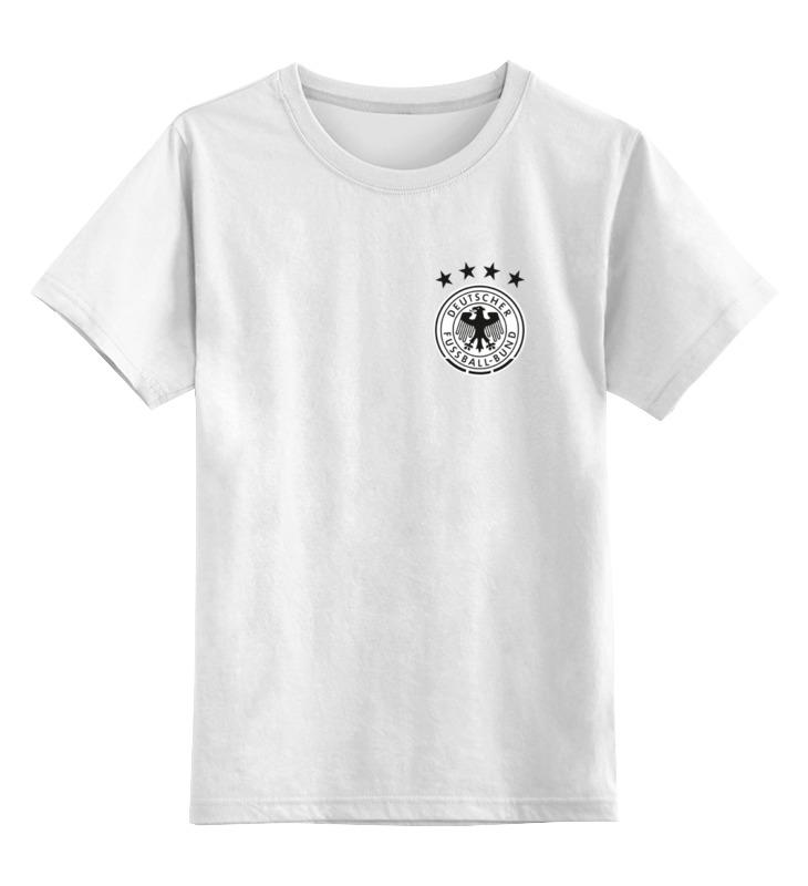 Детская футболка классическая унисекс Printio Сборная германии по футболу 2016 детская футболка классическая унисекс printio сборная германии