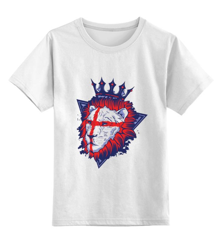 Детская футболка классическая унисекс Printio Король лев тарелка король лев диаметр 19 см