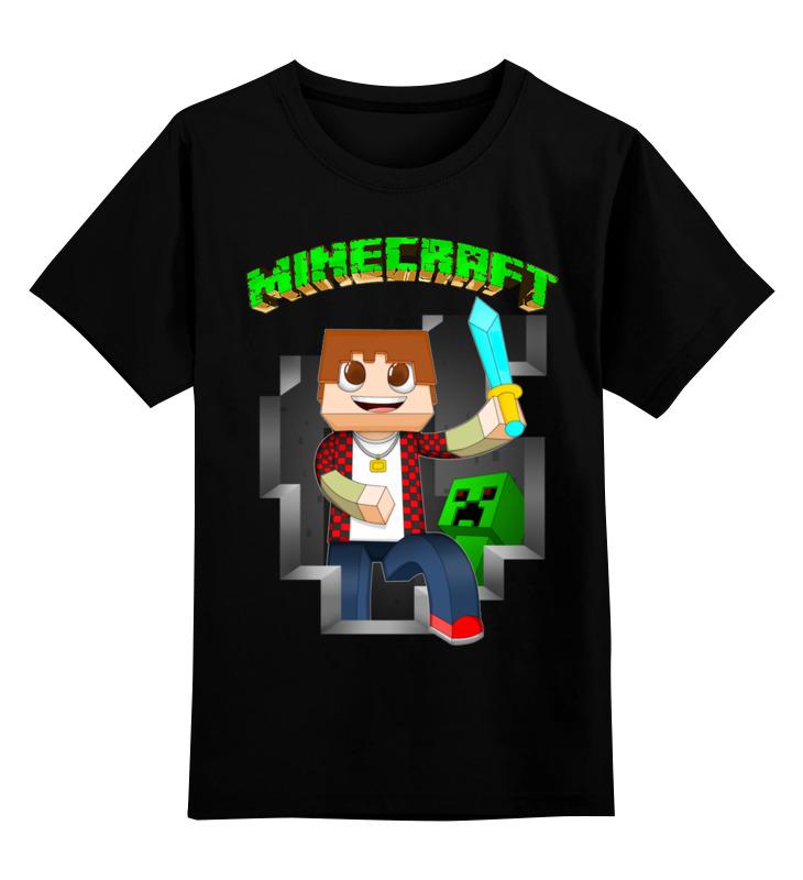 Детская футболка классическая унисекс Printio Майнкрафт