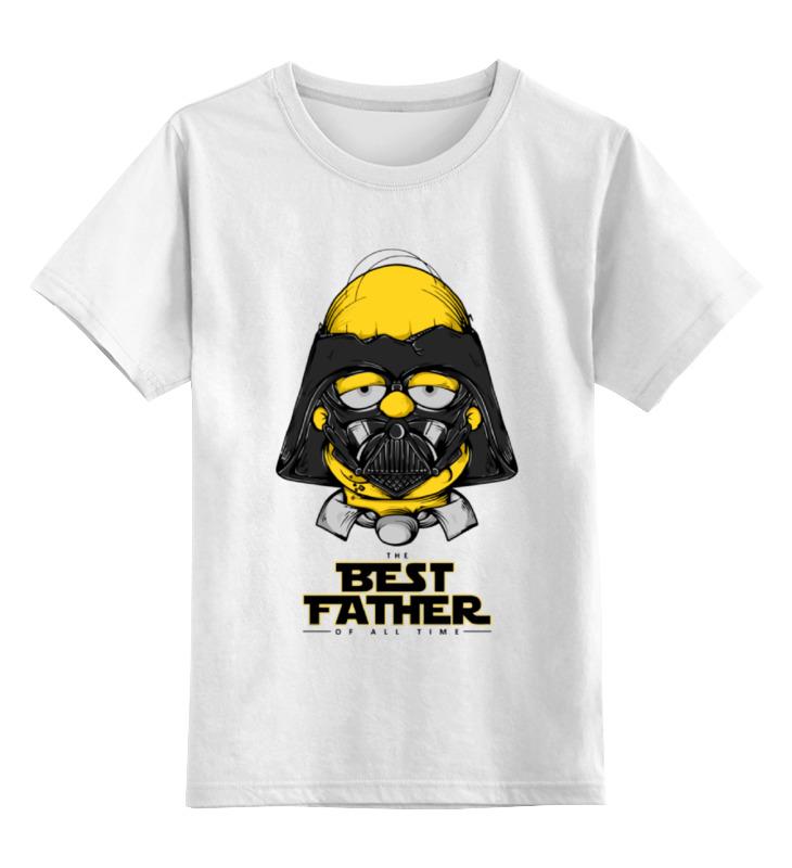 Детская футболка классическая унисекс Printio Гомер симпсон детская футболка классическая унисекс printio рога