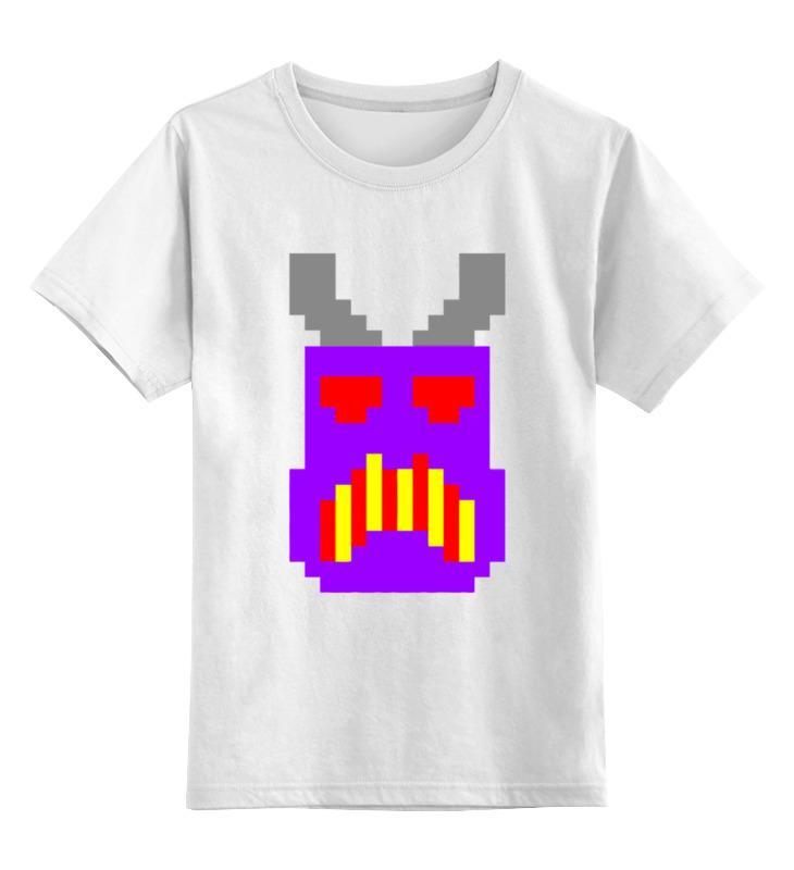 Детская футболка классическая унисекс Printio Игрушечный бонни (майнкрафт)