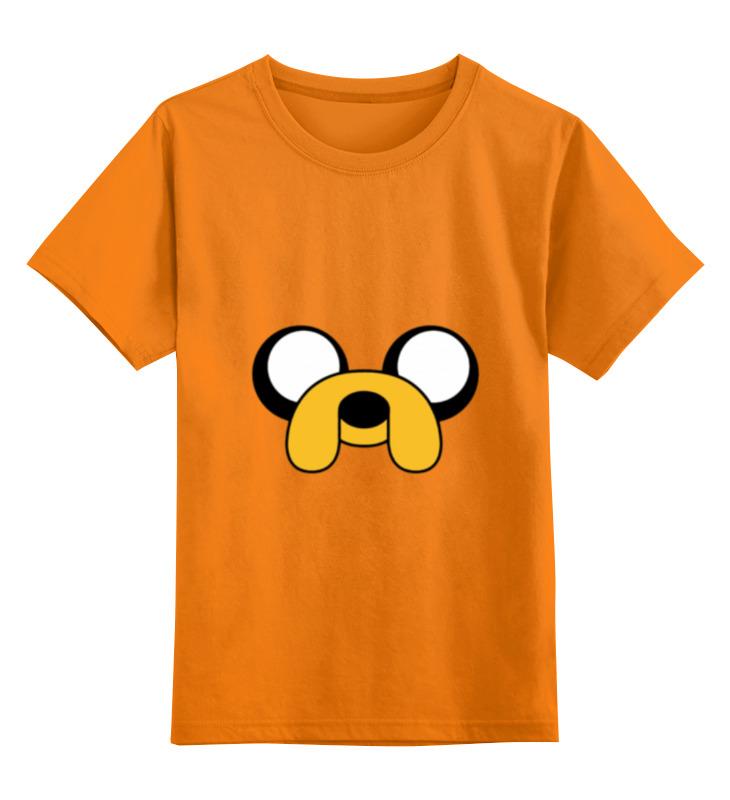 Детская футболка классическая унисекс Printio jake-dog футболка классическая printio gta 5 dog